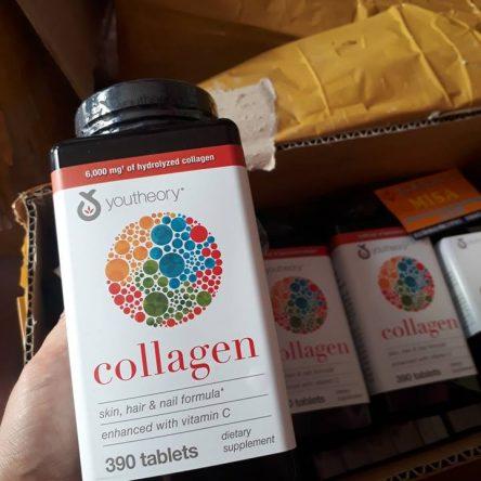 Viên uống Collagen 390 tablets – bổ sung Collagen chống lão hóa da