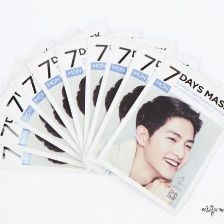 Mặt Nạ 7 Ngày Cho Làn Da Đẹp Như Mỹ Nam Song Joong Ki